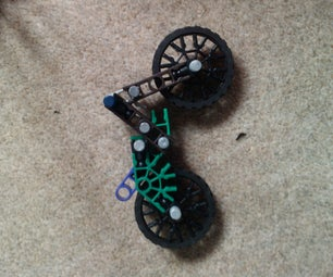K'nex Mini Moto X Finger/stunt Bike