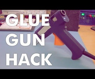 Glue Gun Hack - Adding a Power Switch & LED