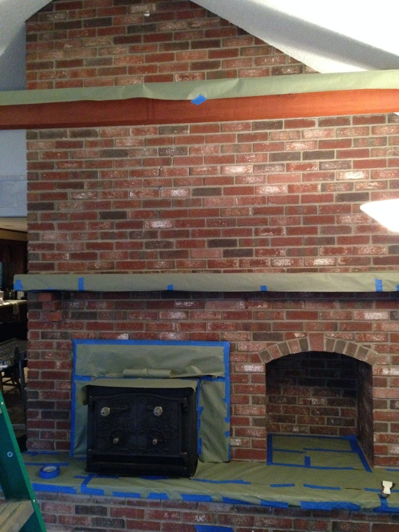 Updating the Fireplace and Hearth.