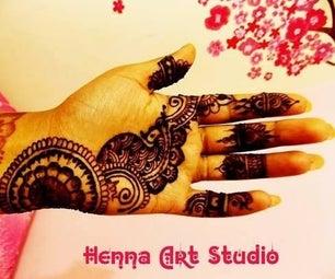 Henna Mehndi Art : Temporary Tattoo Art