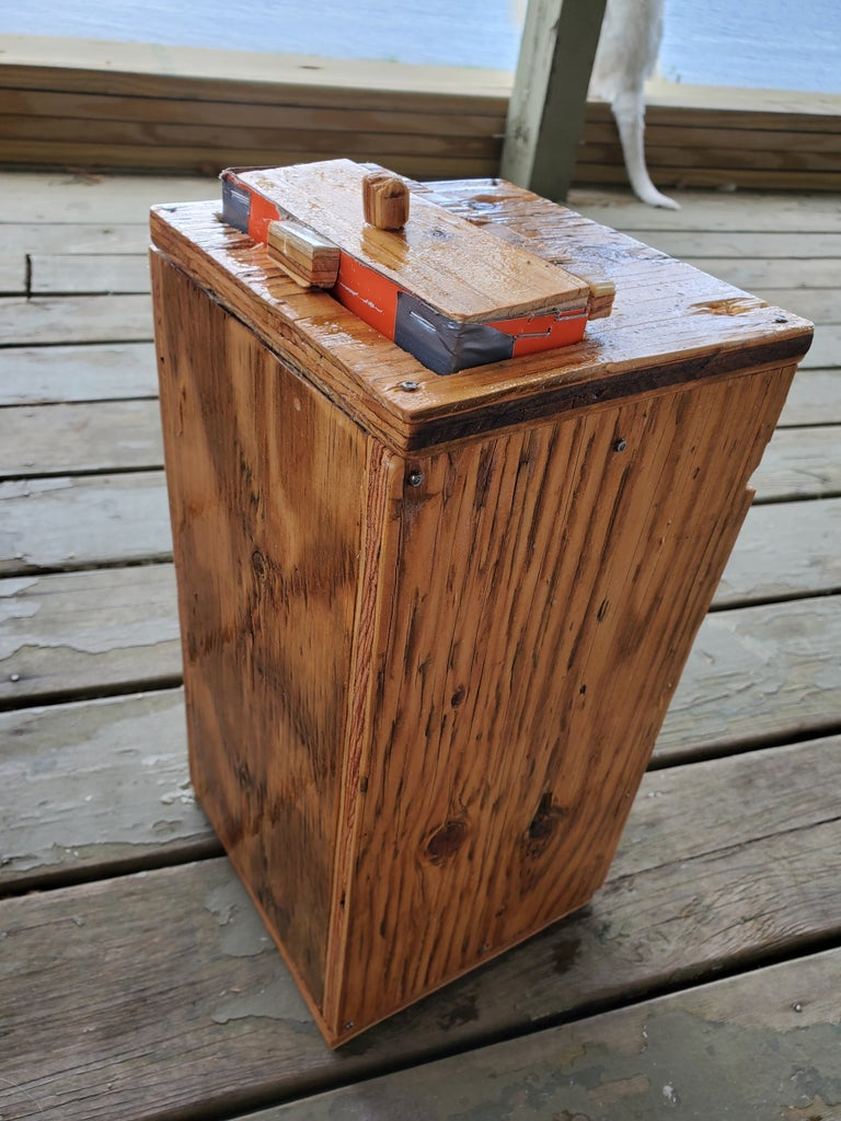 Oiling With Linseed Oil