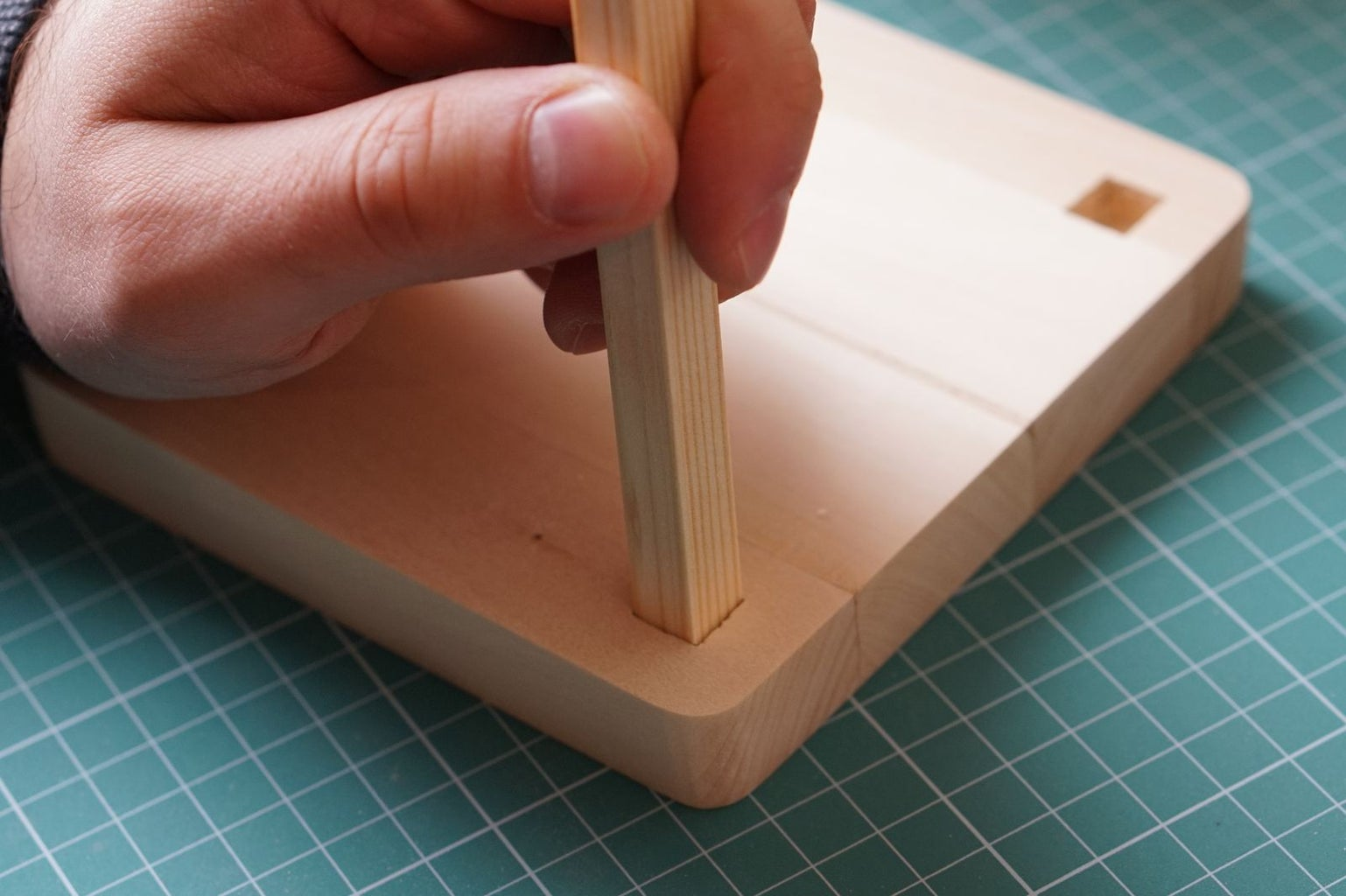 Gluing the Frame Pieces