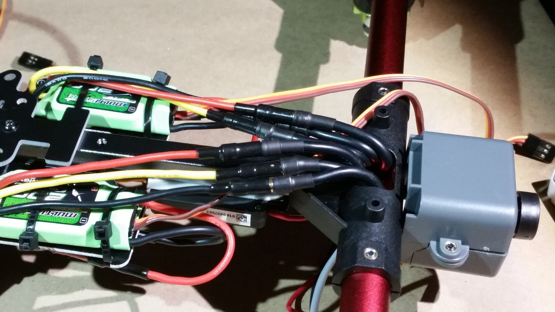 Connect the ESCs to the Motors