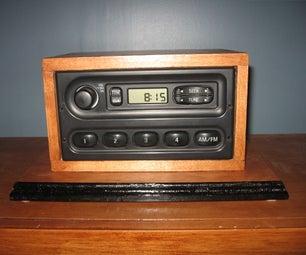 Junkyard Radio to Table Radio