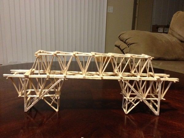 Toothpick Bridge Project