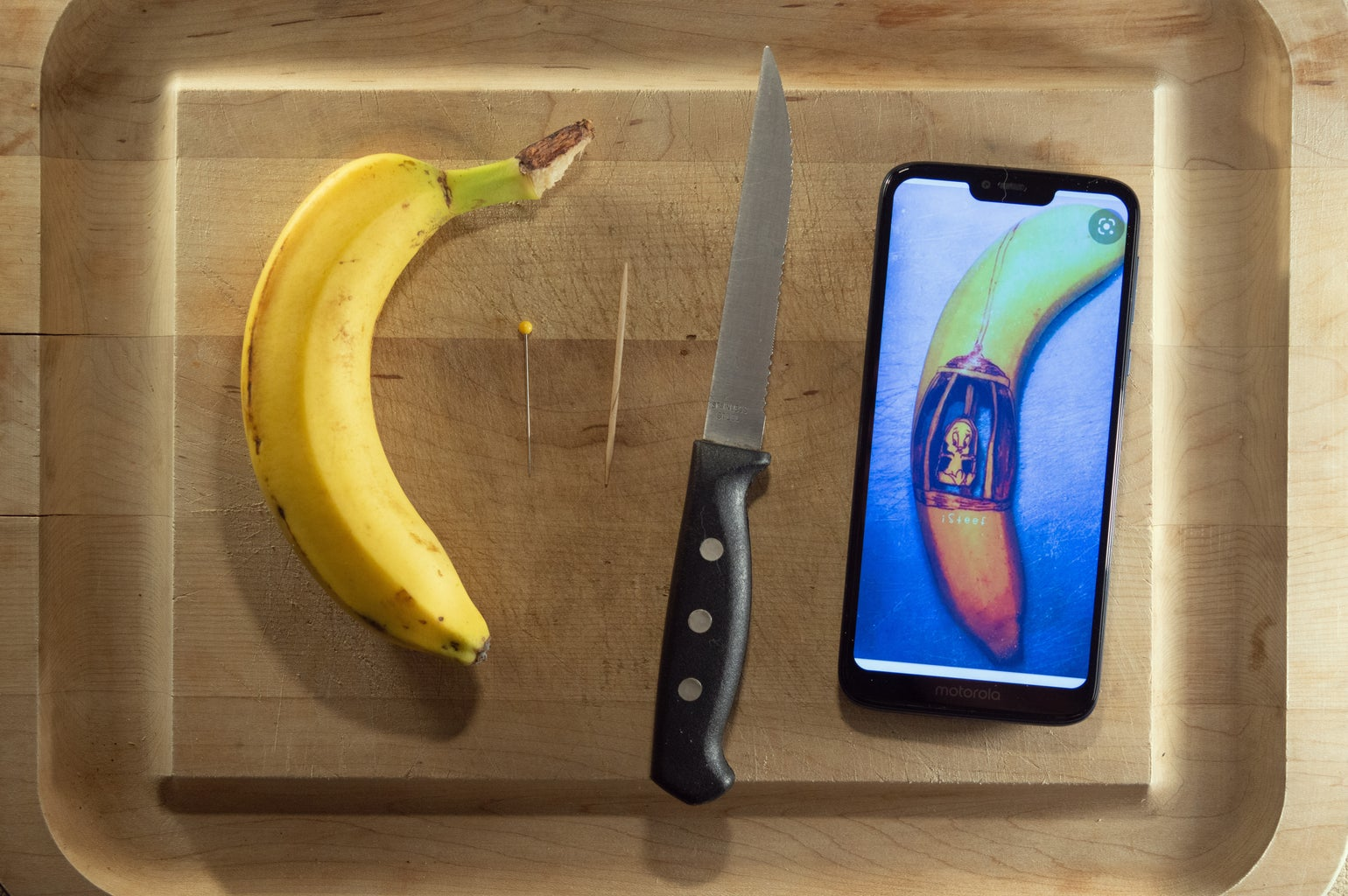 The Mysterious World of Banana Carving