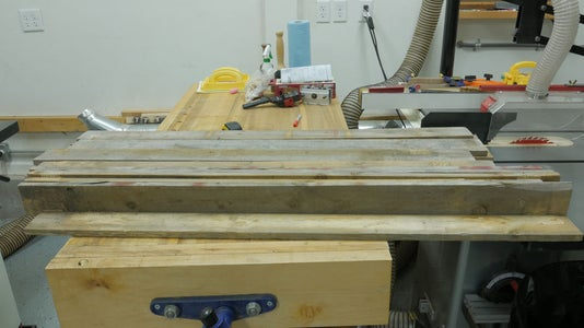 Lumber Needed for the Project