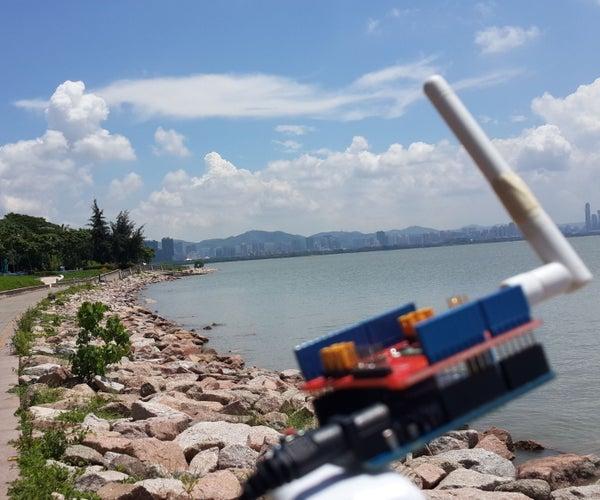 Dragino LoRa GPS Tracker