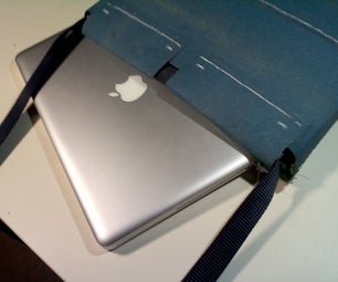 Belt Sander Belt Messenger/Laptop Bag