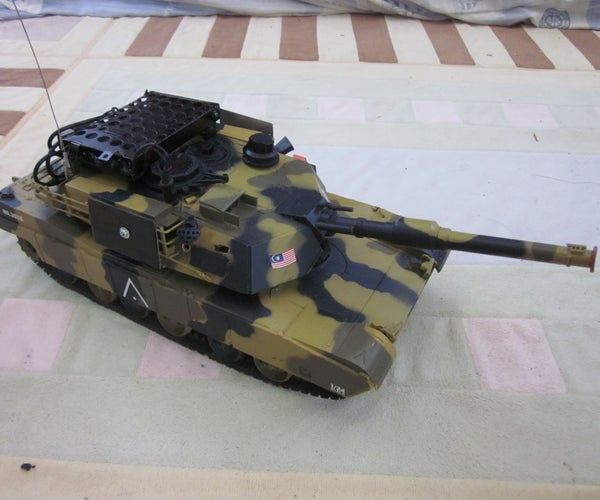 Bluetooth Control RC Tank + Android + Arduino
