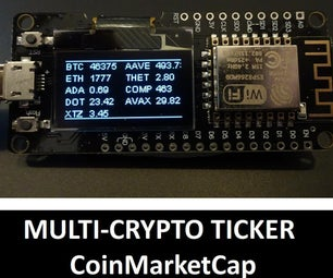 Multi-Crypto Ticker:CoinmarketCap
