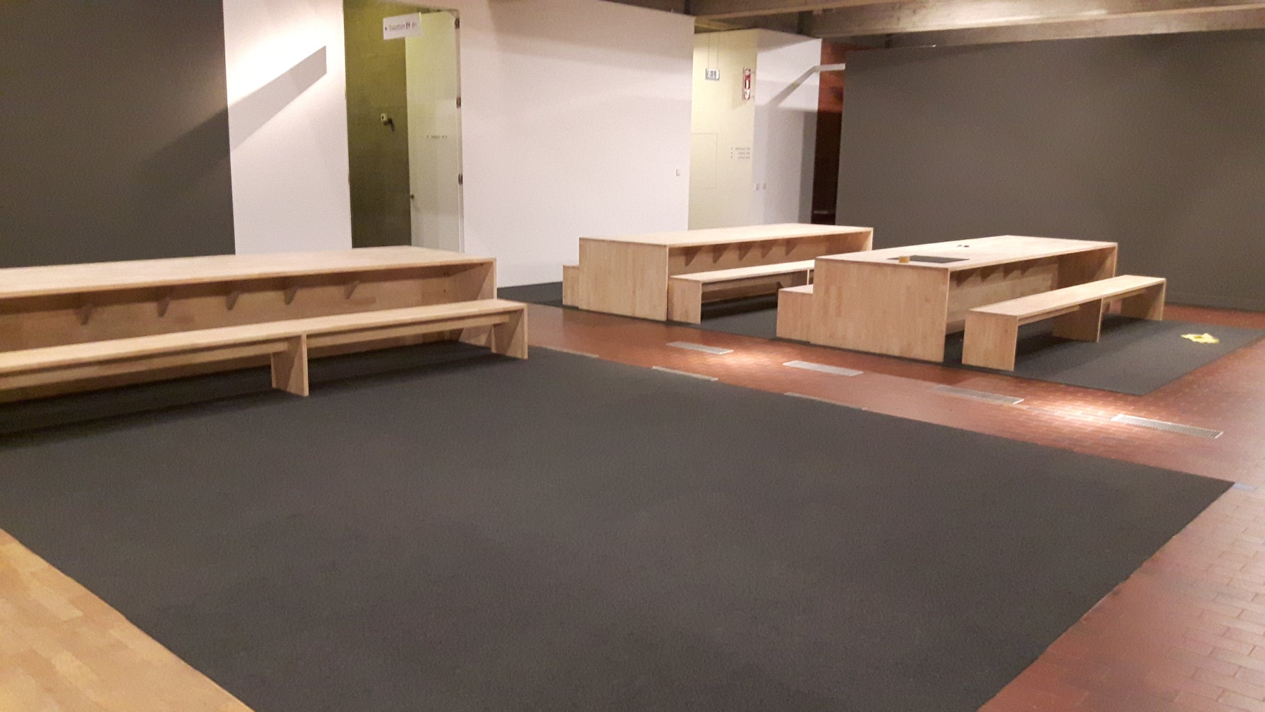 Reassembling the Tables and Benches