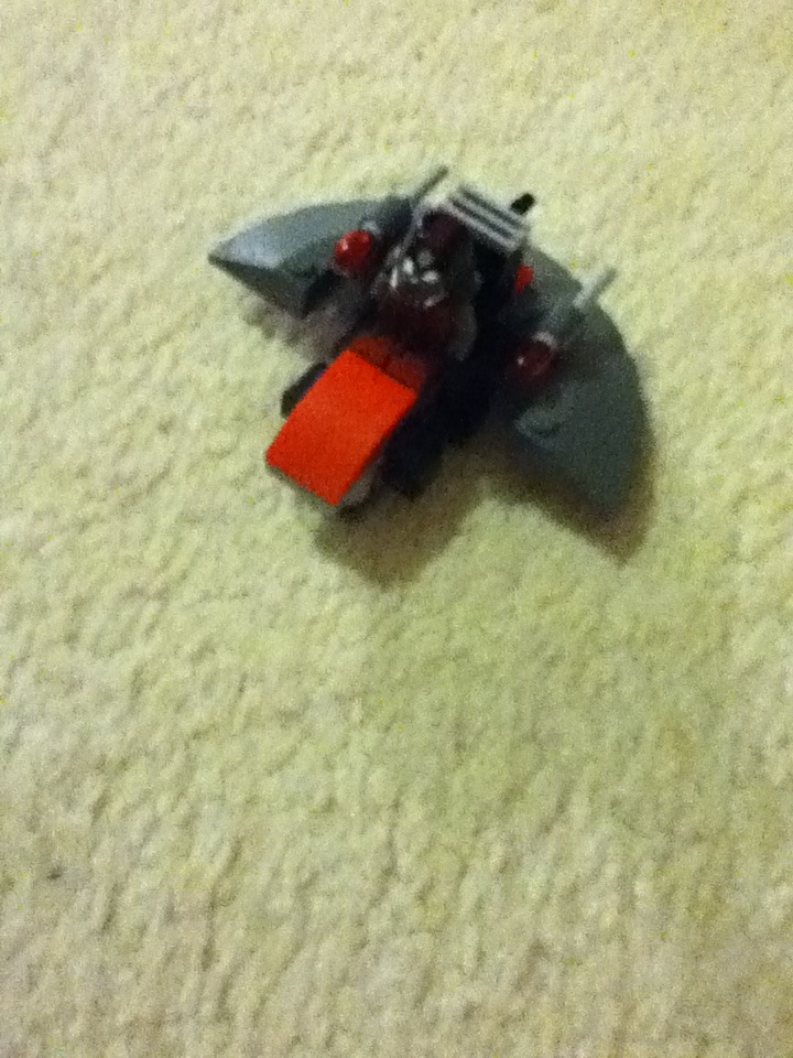 Small Lego Fighter Jet