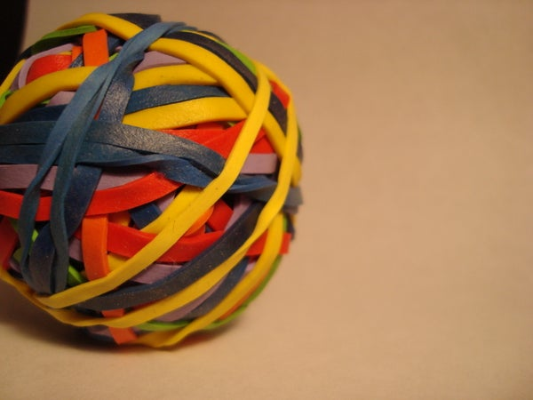 How to Make a Cheap Rubber Band Ball