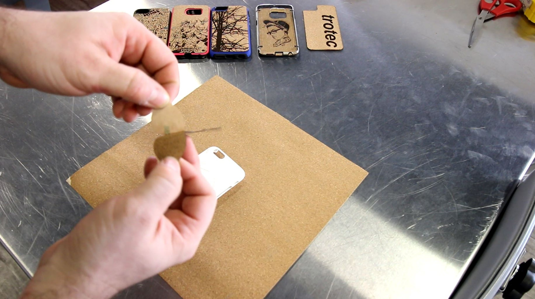 Engrave, Cut and Assembly