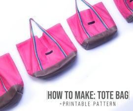 Easy Tote Bag