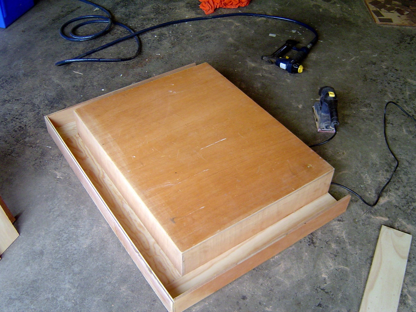 Build Table Top and Gutter