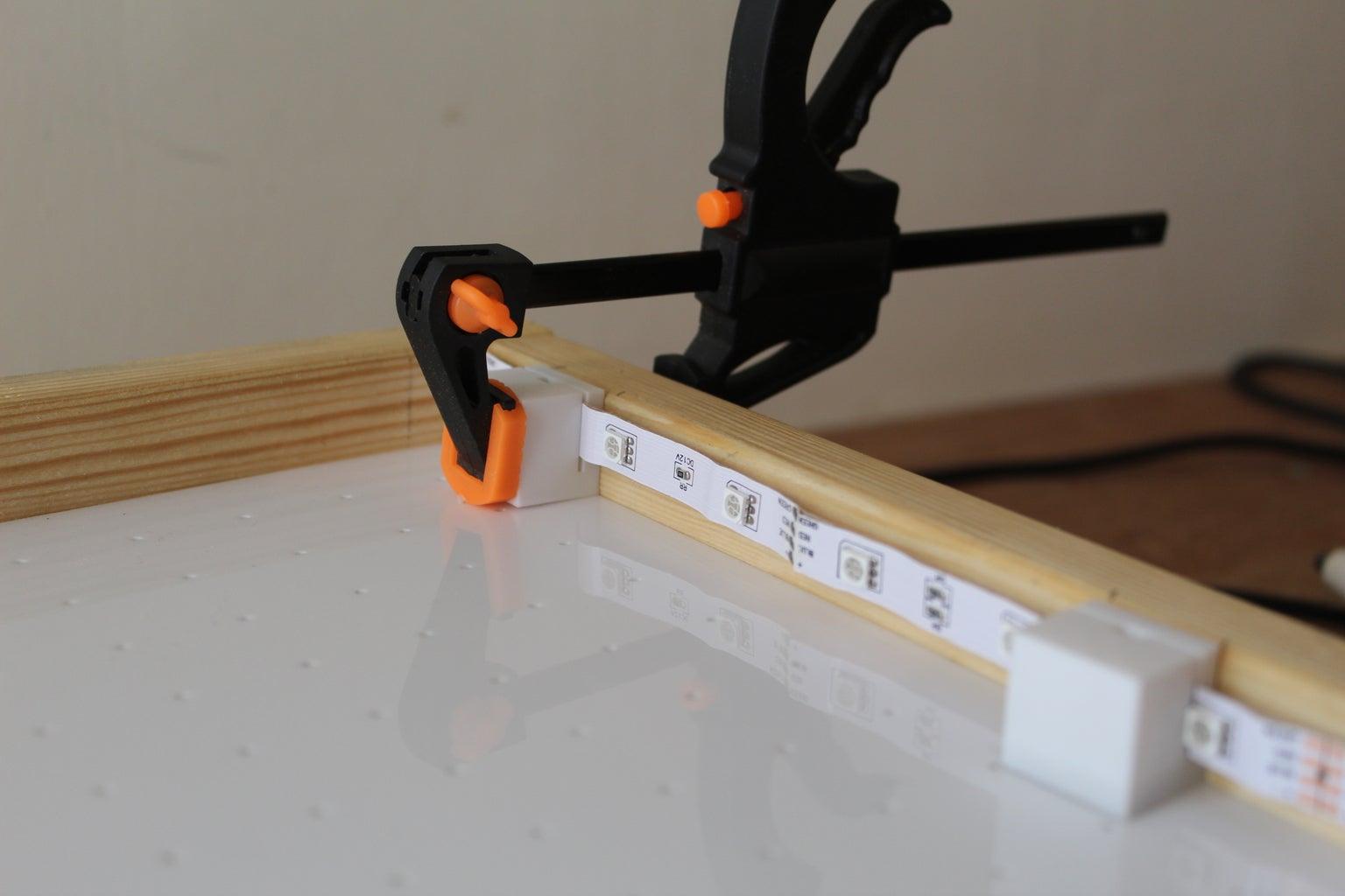 Adding the LED Holders