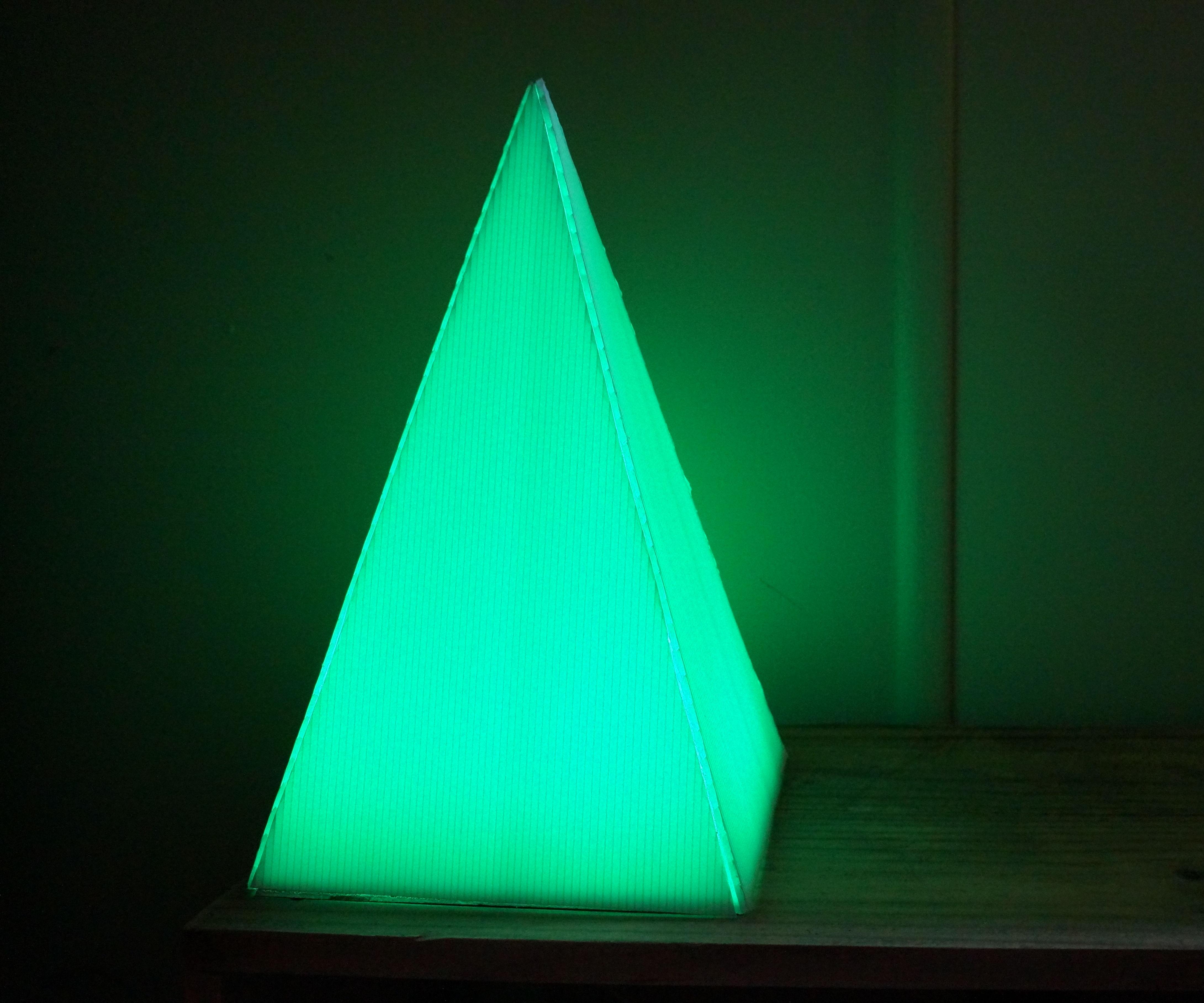 Spectrum - Geometric Pyramid of Light
