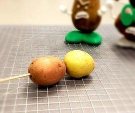 Potatoes on a Stick