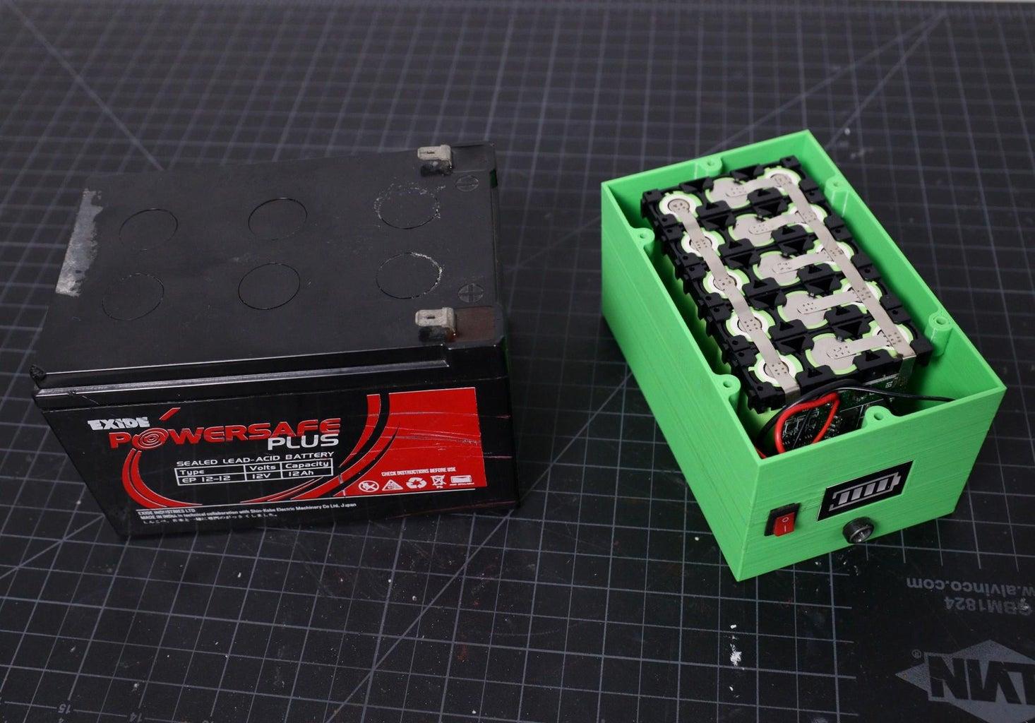 Lead-Acid Battery Vs Lithium-Ion Battery
