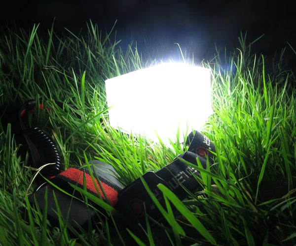 Flat-Pack Lantern Attachment for Any Headlamp (DIY Diffuser)