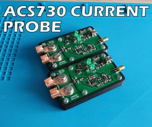 ACS730 500KHz示波器电流探头