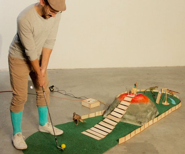 Animatronic Mini Golf