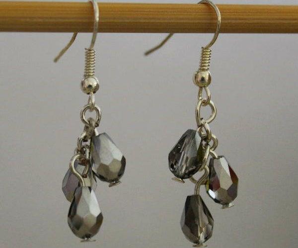 Easy Beaded Dangling Earrings