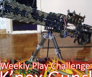 The Weekly Play Challenge: K'nex Guns!