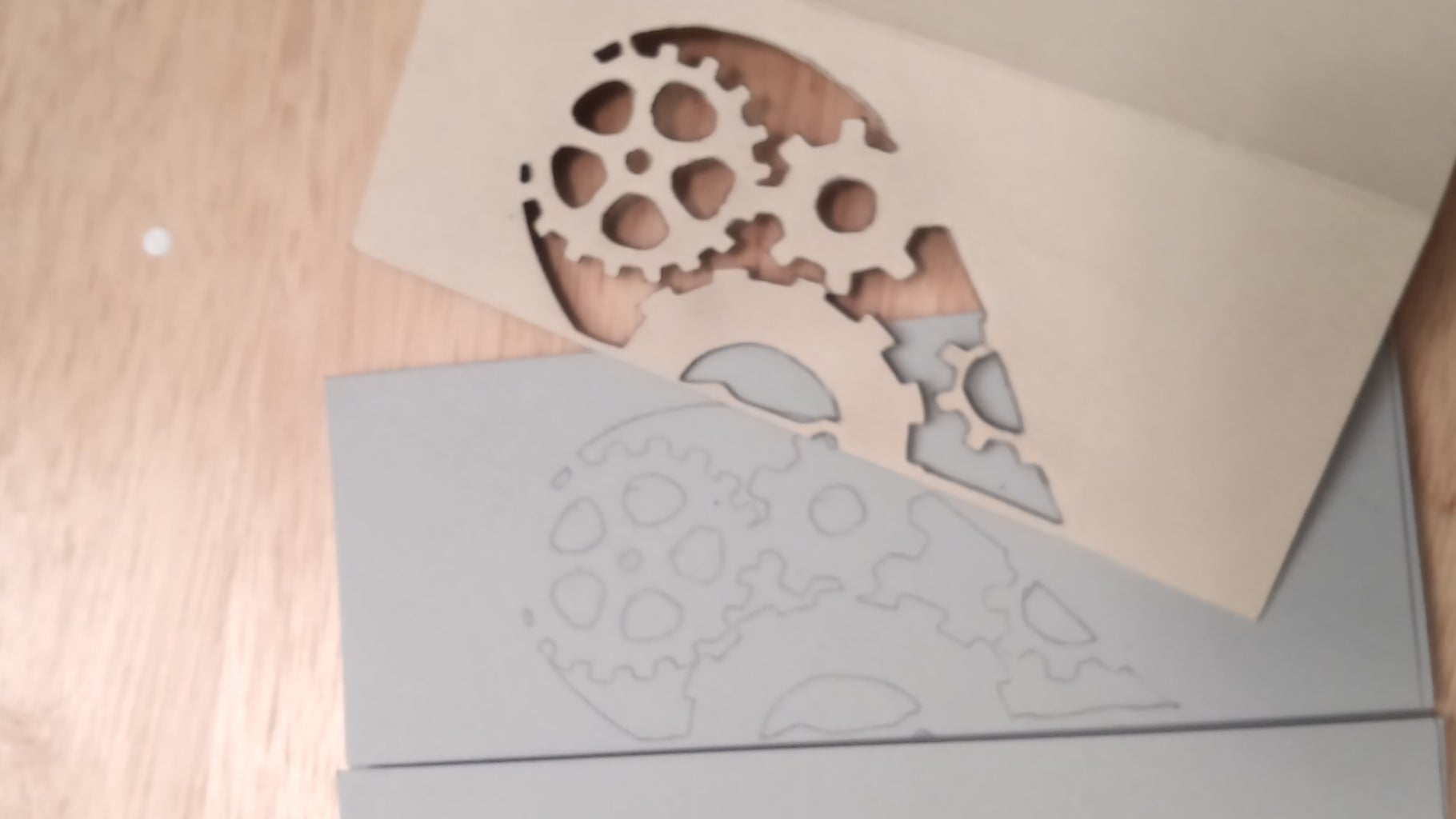 Trace the Design on Your Card