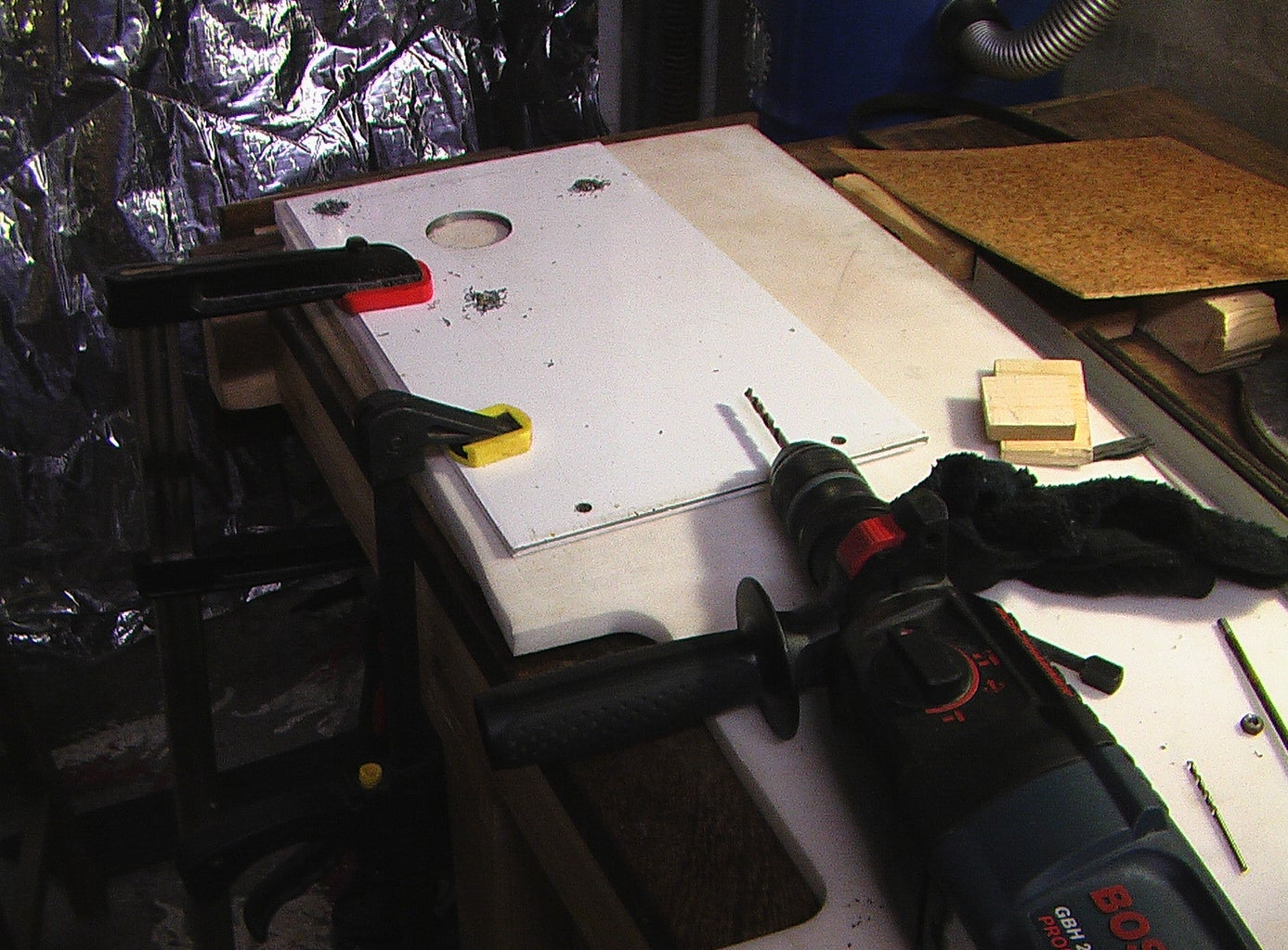 Making the Headstock (front and Back Panels)