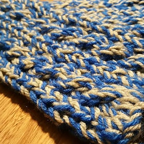 Not a Knitter? Not a Problem! Knit a Cable-Knit Scarf