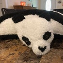 Adorable Panda Pillow Pet