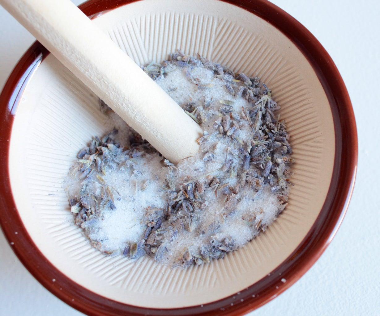 Diy Lavender Scrub