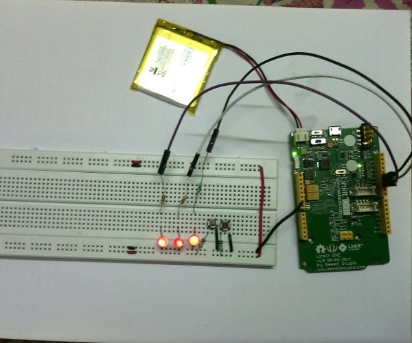 LinkIt One : Coolest Battery Indicator