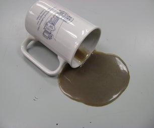 [spilled Coffee Prank/prop]