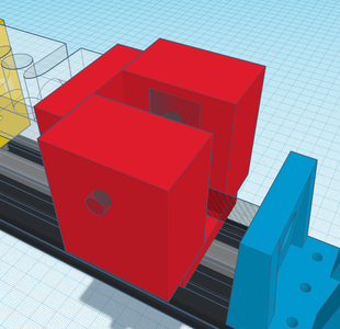 Design Process - Moving Grip - Center Cutout
