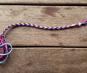 How to Make a Friendship Bracelet With Your Pinkies