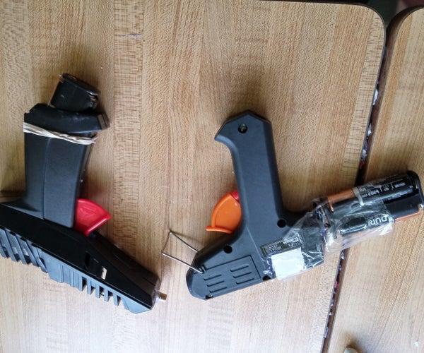 Scalectrics Gun to Laser Gun