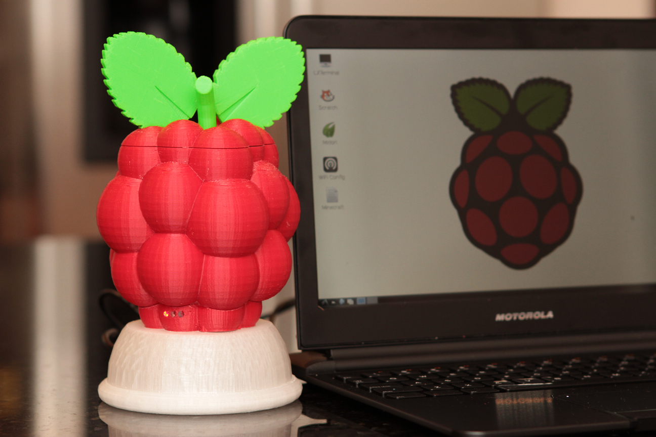 Very Berry Pi-Case 3000
