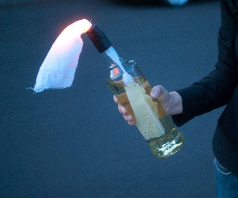 LED Molotov Cocktail Lamp