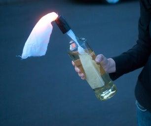 LED Molotov Cocktail