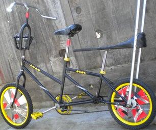 """VAPORIZER"" = Parade-Stretch-Cargo Bicycle"