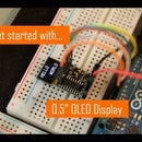 "Get Started With 0.5"" OLED Display"