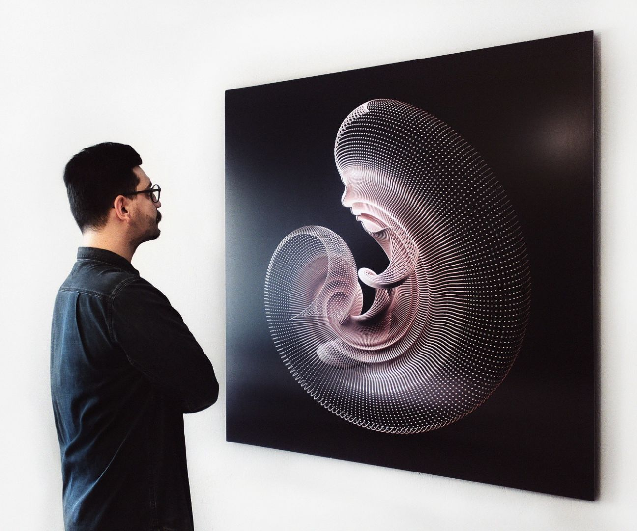 Unfold 01: Projection on Print