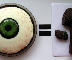 I Pi = Log(-1): EYE PIE (Chocolate Cherry Almond Panna Cotta Pie) = LOG NEGATIVE ONE (Chocolate Almond Log)