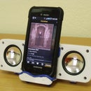 Hacking Cheap iPhone speakers for Android Dock