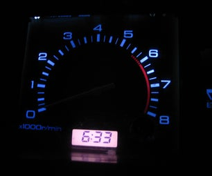 Replace You Cars Instrument Panel Lights With LEDs.
