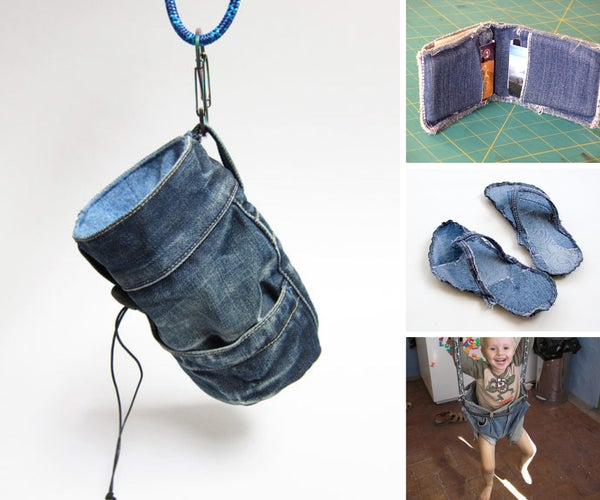 10 Things to Make With an Old Pair of Jeans